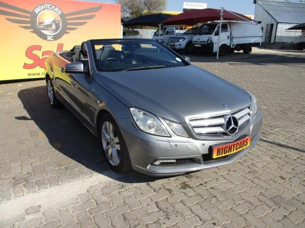 2013 Mercedes-Benz E-Class E 350 Cabriolet  Gauteng North Riding_0