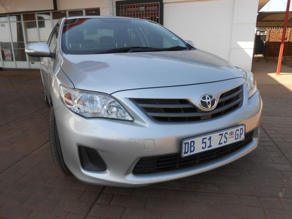 2012 Toyota Corolla 1.3 Professional  Gauteng Waterkloof_0
