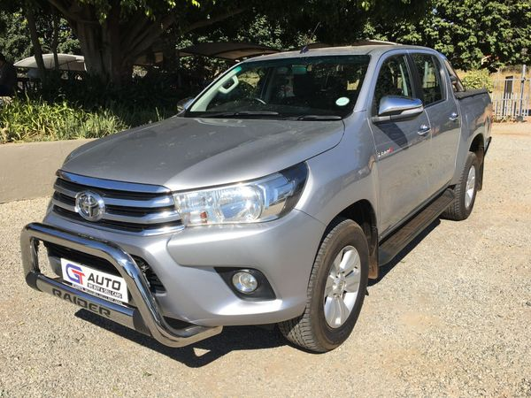 2016 Toyota Hilux 2.8 GD-6 RB Raider Double Cab Bakkie Auto Mpumalanga White River_0