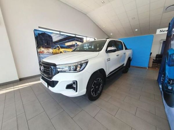 2020 Toyota Hilux 2.8 GD-6 Raider 4X4 Auto Double Cab Legend 50 Free State_0