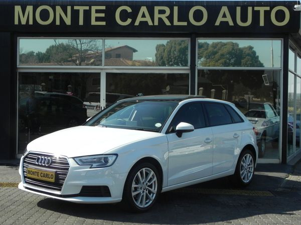 2019 Audi A3 Sportback 1.0 TFSI STRONIC Automatic Petrol Gauteng Sandton_0