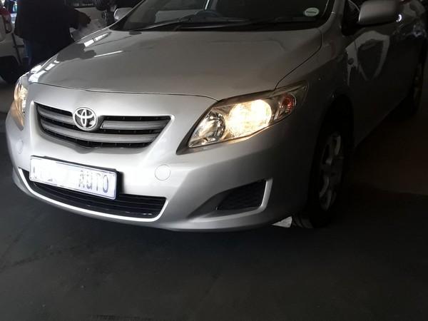 2009 Toyota Corolla 1.3 Professional  Gauteng Johannesburg_0