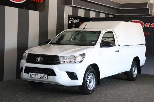 2018 Toyota Hilux 2.0 VVTi AC Single Cab Bakkie Mpumalanga Delmas_0