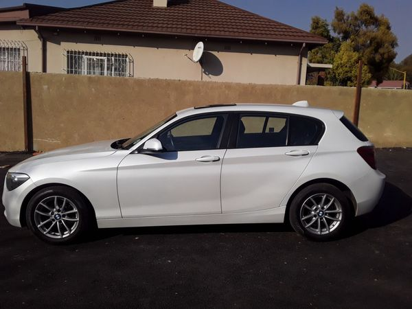 2014 BMW 1 Series 116i M Sport Line 5dr At f20  Gauteng Rosettenville_0