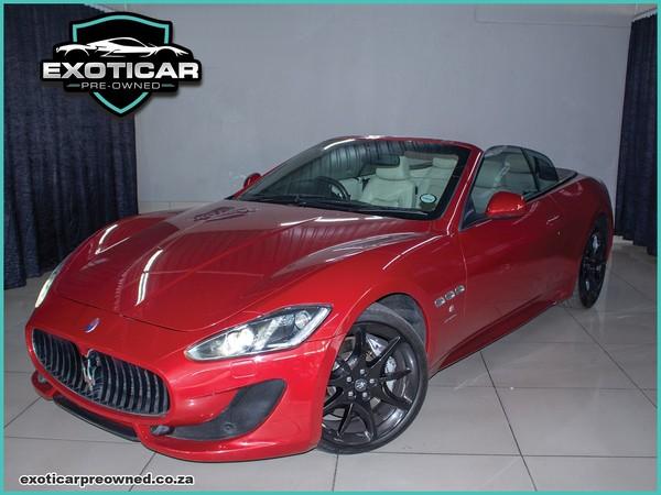 2012 Maserati Granturismo GranCabrio Sport Gauteng Benoni_0