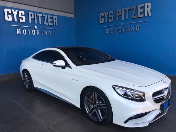 2015 Mercedes-Benz S-Class S 63 AMG Coupe Gauteng Pretoria_0