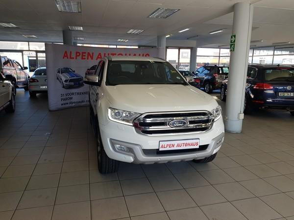 2016 Ford Everest 3.2 LTD 4X4 Auto Western Cape Parow_0