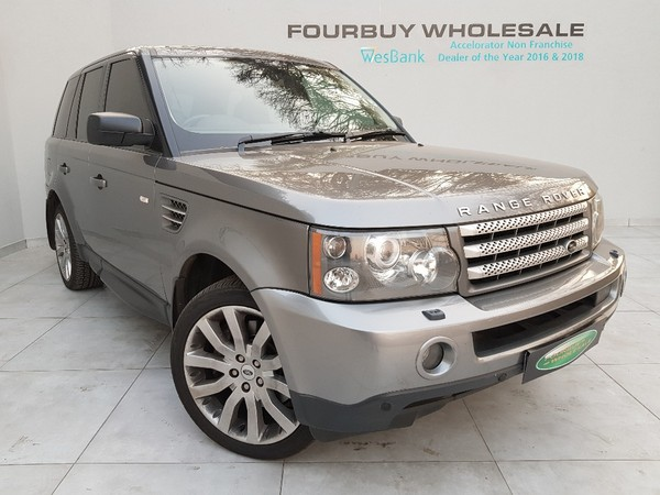 2008 Land Rover Range Rover Sport 4.2 V8 Supercharged Gauteng Four Ways_0