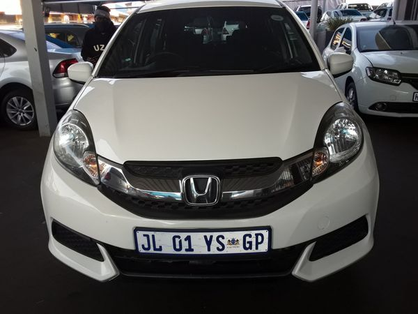 2016 Honda Mobilio 1.5 Comfort CVT Gauteng Johannesburg_0