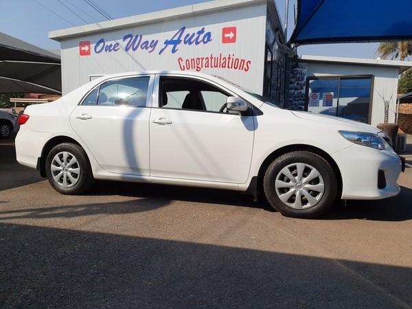 2012 Toyota Corolla 1.3 Professional  Gauteng Pretoria_0