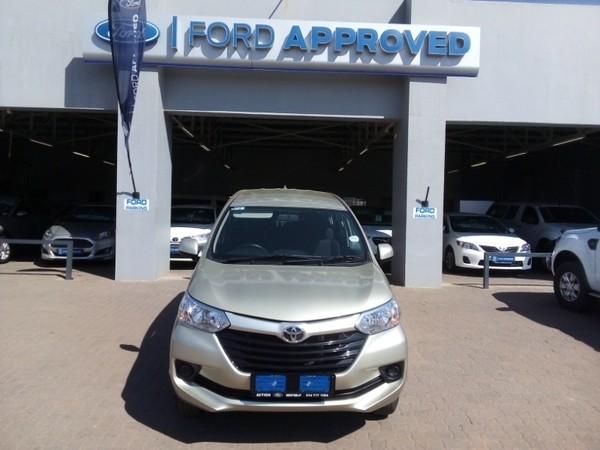 2019 Toyota Avanza 1.5 SX Limpopo Nylstroom_0