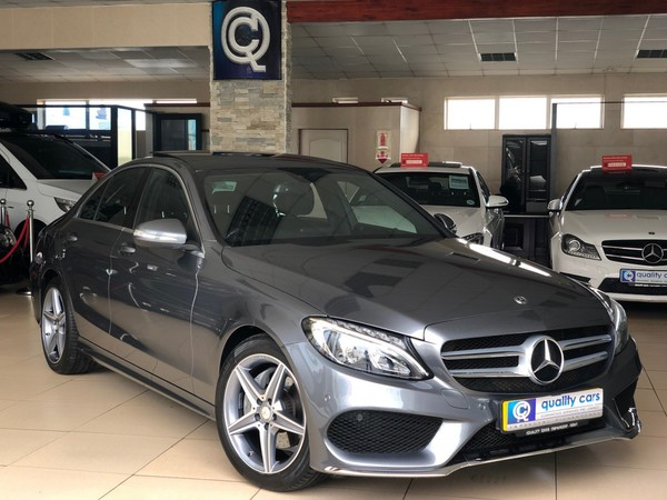 2018 Mercedes-Benz C-Class C180 AMG Line Auto Kwazulu Natal Richards Bay_0