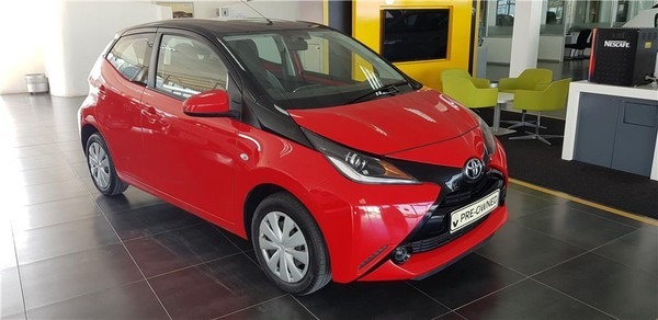 2016 Toyota Aygo 1.0 X- PLAY 5-Door Western Cape Vredenburg_0