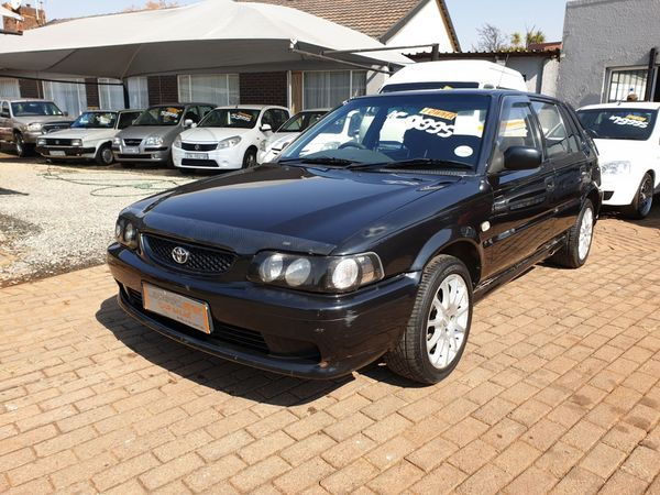2004 Toyota Tazz 130 Sport  Gauteng Boksburg_0