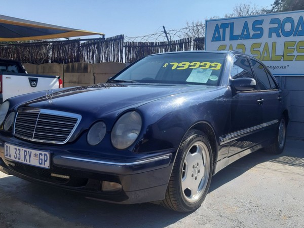 2000 Mercedes-Benz E-Class E240 V6 Elegance At  Gauteng Benoni_0