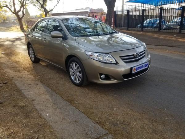 2008 Toyota Corolla 1.6 Professional  Gauteng Pretoria West_0