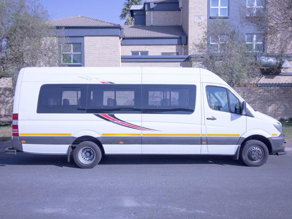 2019 Mercedes-Benz Sprinter 515 CDi 23 Seater Bus Gauteng Boksburg_0