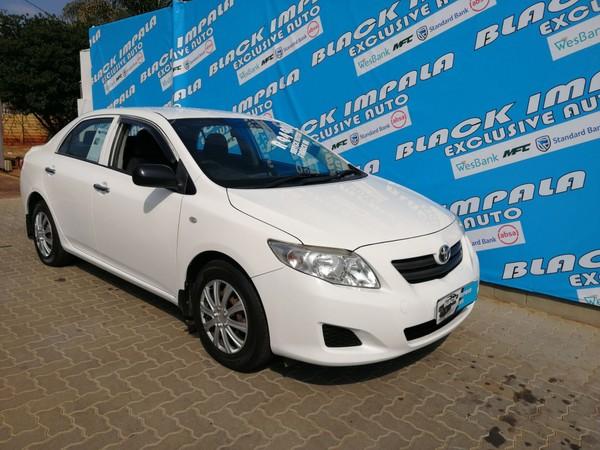 2010 Toyota Corolla 1.3 Impact  Gauteng Pretoria North_0