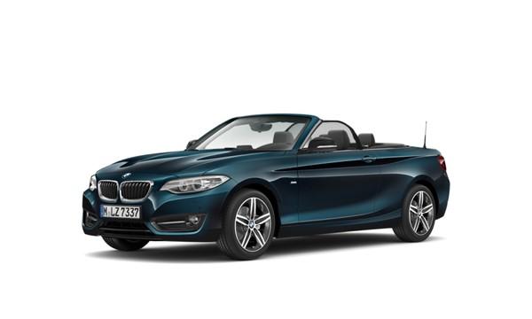 2017 BMW 2 Series 220i Convertible Sport Line Auto F23 Gauteng Roodepoort_0
