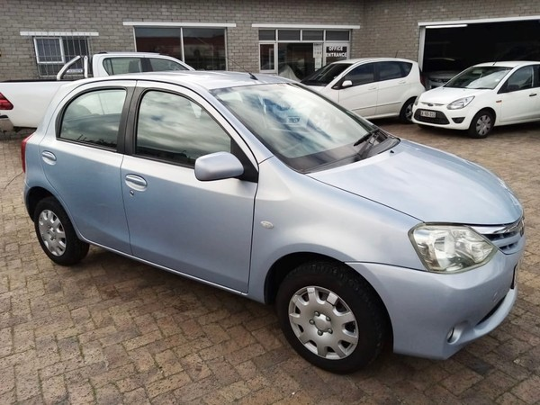 2012 Toyota Etios 1.5 Xs 5dr  Western Cape Plumstead_0