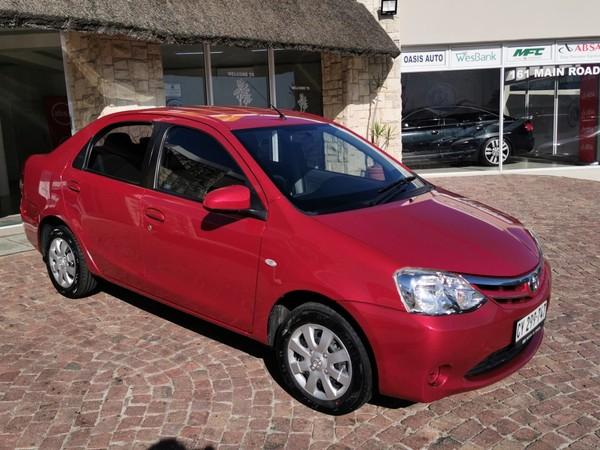 2018 Toyota Etios 1.5 Xi  Western Cape Strand_0
