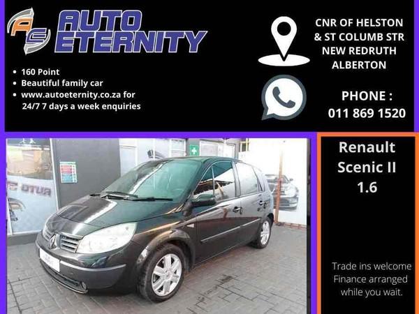 2007 Renault Scenic Ii Expression 1.6  Gauteng Alberton_0
