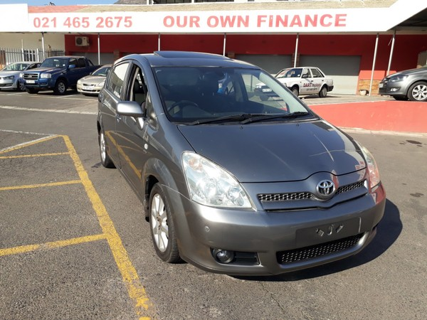 2004 Toyota Verso 180 Tx At  Western Cape Cape Town_0