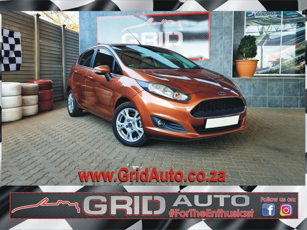 2016 Ford Fiesta 1.6 Tdci Trend 5dr  Gauteng Pretoria North_0