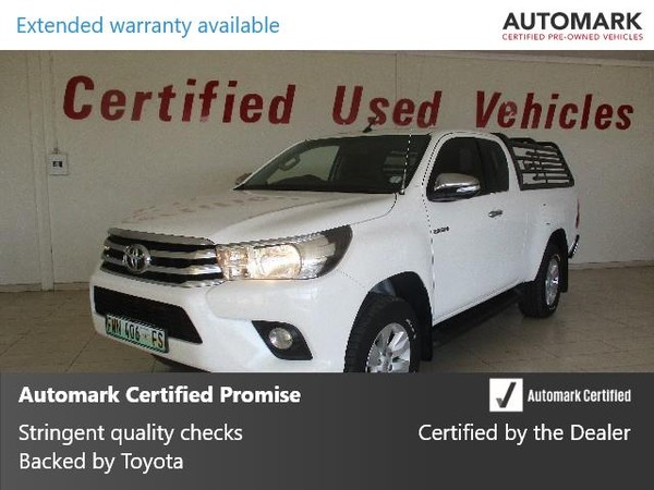 2016 Toyota Hilux 2.8 GD-6 Raider 4x4 Extended Cab Bakkie Free State Bothaville_0