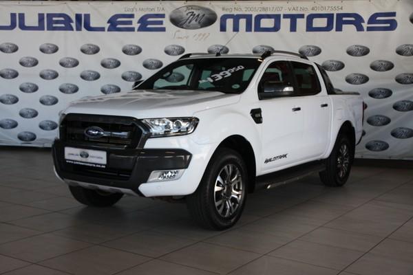 2018 Ford Ranger 3.2TDCi WILDTRAK Auto Double Cab Bakkie Gauteng Springs_0