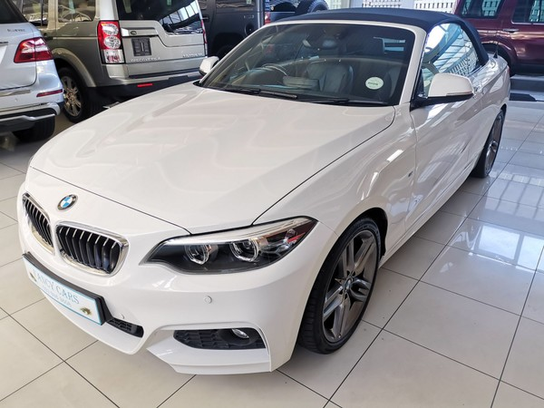 2018 BMW 2 Series 220i Convertible M Sport Auto F23 Western Cape Bellville_0