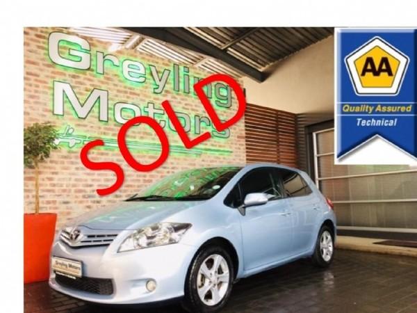 2010 Toyota Auris 1.6 Xs  Gauteng Pretoria_0