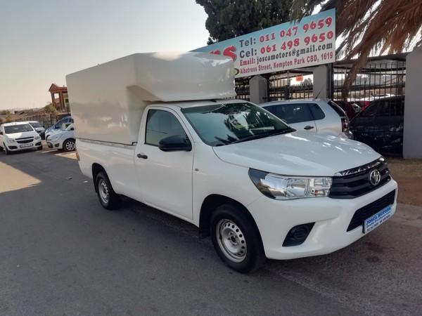 2016 Toyota Hilux 2.4 GD-6 RB SRX Single Cab Bakkie Gauteng Kempton Park_0