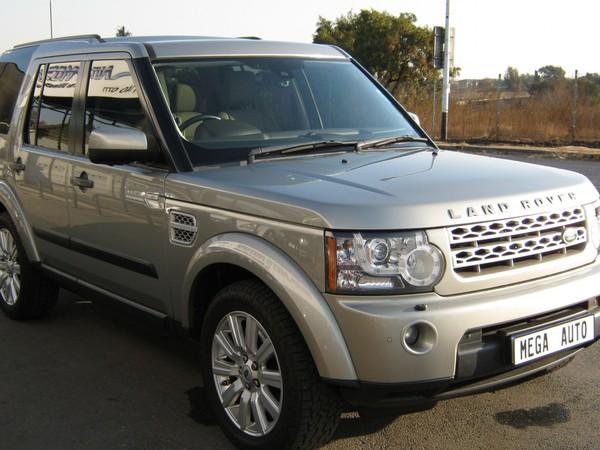 2012 Land Rover Discovery 4 3.0 Tdv6 Hse  Gauteng Boksburg_0