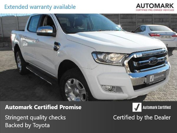 2017 Ford Ranger 3.2TDCi XLT Double Cab Bakkie Mpumalanga Standerton_0