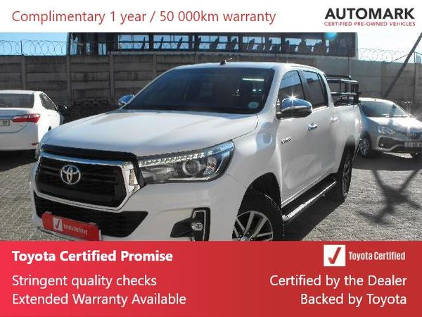 2019 Toyota Hilux 2.8 GD-6 Raider 4X4 Auto Double Cab Bakkie Mpumalanga Standerton_0