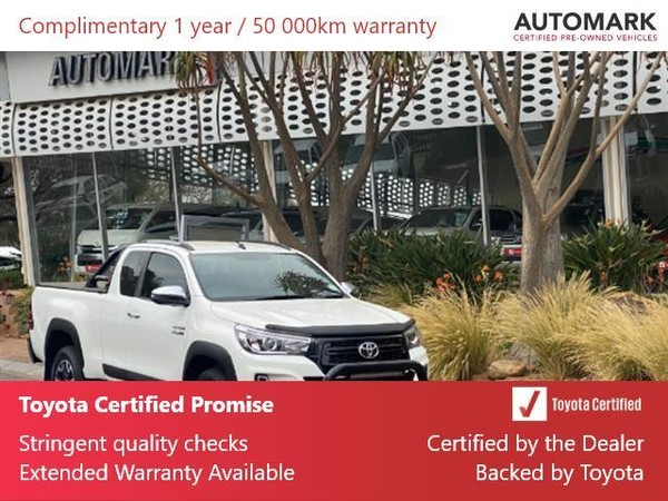 2019 Toyota Hilux 2.8 GD-6 RB Raider Double Cab Bakkie Gauteng North Riding_0