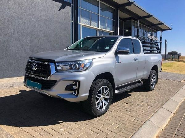 2018 Toyota Hilux 2.8 GD-6 RB Raider PU ECAB Free State Bloemfontein_0