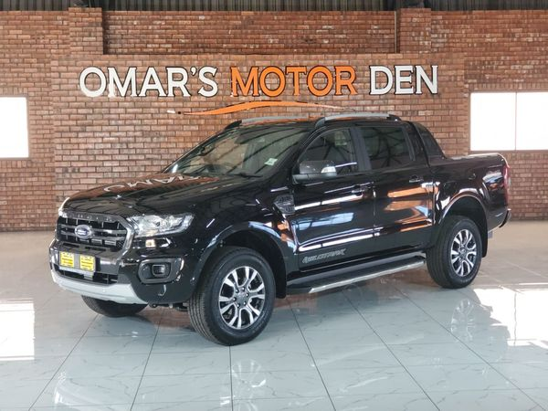 2020 Ford Ranger 2.0TDCi WILDTRAK 4X4 Auto Double Cab Bakkie Mpumalanga Witbank_0