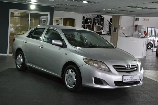 2008 Toyota Corolla 1.3 Professional  Gauteng Johannesburg_0