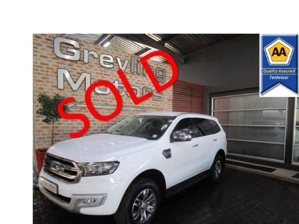2019 Ford Everest 2.2 TDCi XLT Auto Gauteng Pretoria_0