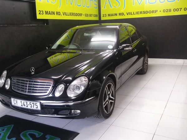 2006 Mercedes-Benz E-Class E 320 Cdi  Western Cape Villiersdorp_0