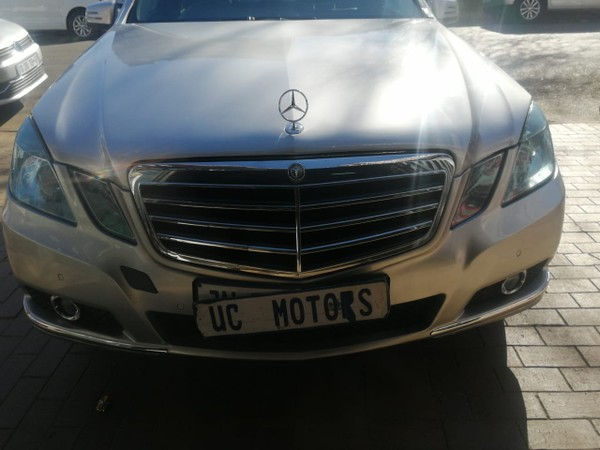 2012 Mercedes-Benz E-Class E 200 Cgi Be  Gauteng Germiston_0