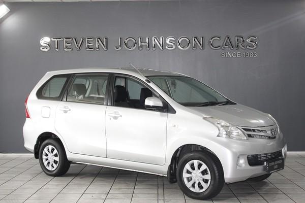 2013 Toyota Avanza 1.5 Sx At  Western Cape Cape Town_0