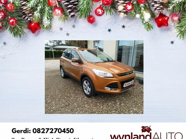 2016 Ford Kuga 1.5 Ecoboost Ambiente Western Cape Worcester_0