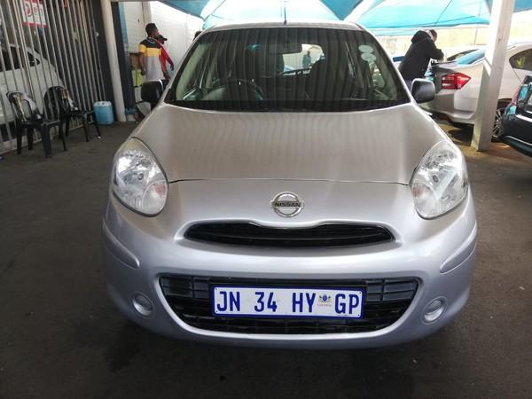 2013 Nissan Micra 1.2 Acenta 5dr d83  Gauteng Johannesburg_0