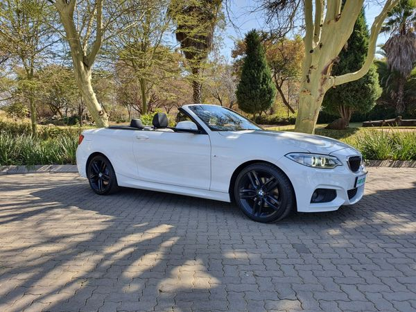 2015 BMW 2 Series 220i Convertible M Sport Auto F23 Gauteng Pretoria_0