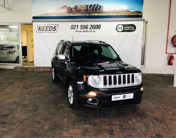 2016 Jeep Renegade 1.4 TJET LTD AWD Auto Western Cape Goodwood_0