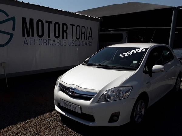 2012 Toyota Auris 180 Xr Hsd hybrid  Gauteng Pretoria_0