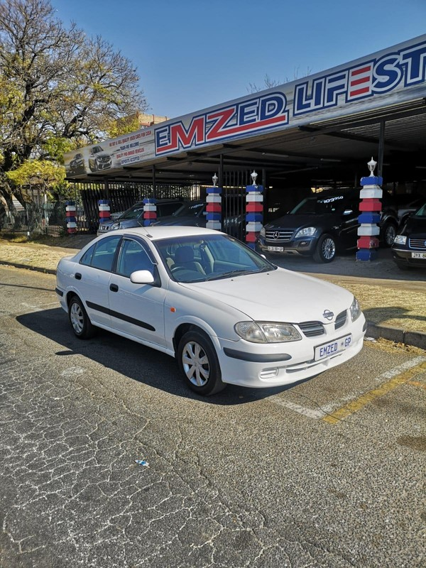 2003 Nissan Almera 1.6 Luxury At h03  Gauteng Kempton Park_0